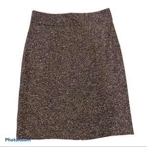 Banana Republic Mad Men Pencil Skirt Brown Size 6